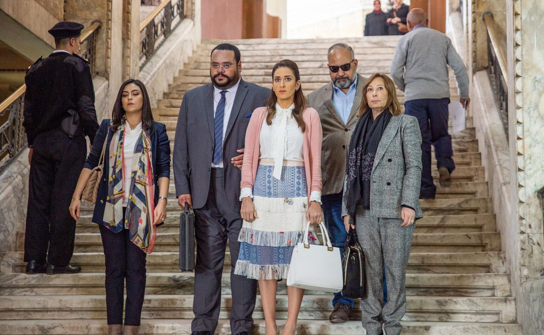 نهى عابدين، محمد ممدوح،  أمينة خليل، بيومي فؤاد وصفاء الطوخي