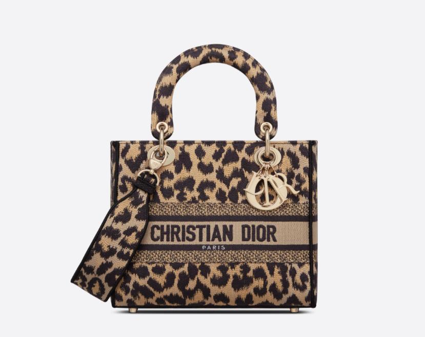 حقيبة مطبعة من ديور Dior