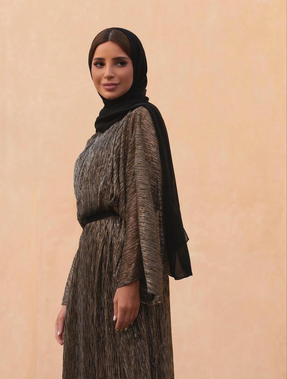 فاطمة حسام باطلالة محتشمة للعيد - الصورة من حسابها على الانستغرام