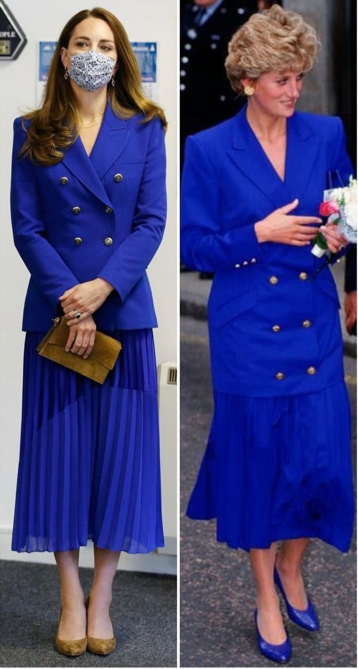 بدت كيت ميدلتون مستوحاة من الأميرة ديانا- الصورة من حساب كيت ميدلتون على إنستغرام