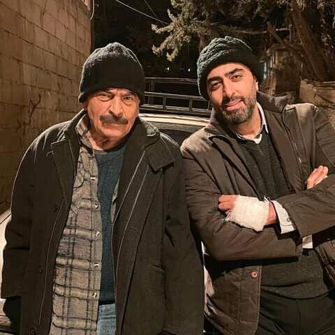 باسم ياخور وسلوم حداد من المسلسل