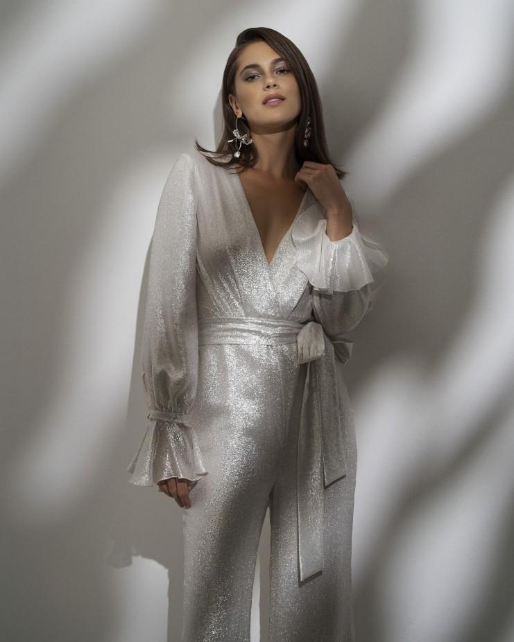 جمبسوت لعروس 2022 من Alexandra Grecco- صورة 2بزاوية أقرب