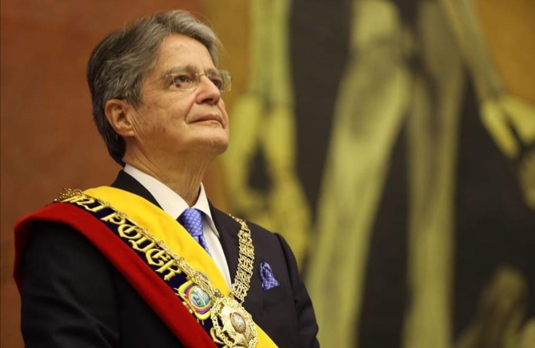 جييرمو لاسو ميندوزا رئيس جمهورية الإكوادور- الصورة من حساب جييرمو لاسو على إنستغرام