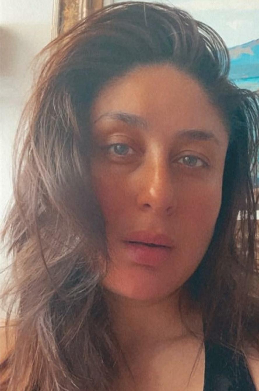كارينا كابور بدون ماكياج - الصورة من حساب كارينا كابور على إنستغرام---