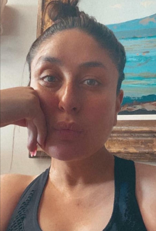 كارينا كابور بدون ماكياج - الصورة من حساب كارينا كابور على إنستغرام-