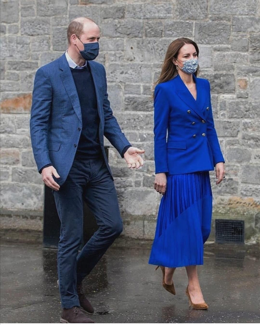 كيت تنضم لزوجها الأمير ويليام في أسكتلاندا- الصورة من حساب Cambridge royal على إنستغرام