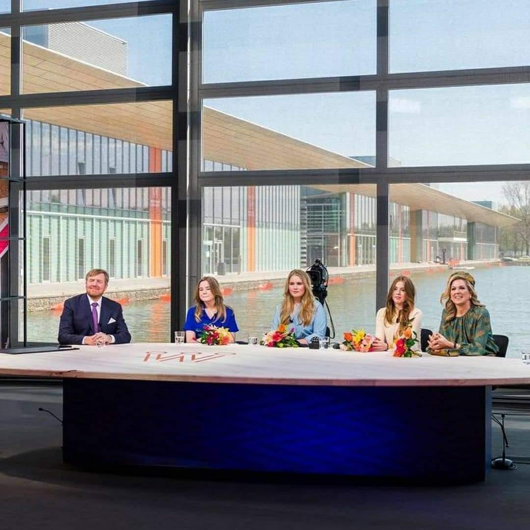 العائلة المالكة الهولندية تتعرف على مفاهيم الرعاية الصحية الجديدة- الصورة من صفحة الملك ويليم على فيسبوك