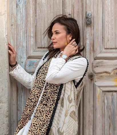 اعتماد الحروف العربية على طريقة الممثلة التونسية هند صبري