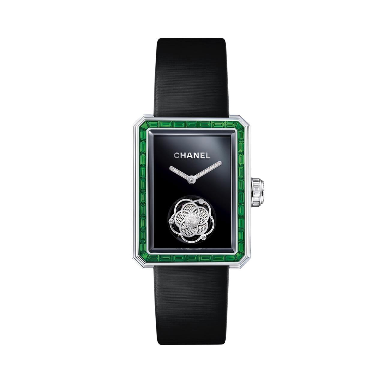 ساعة Première Flying Tourbillon من شانيل Chanel