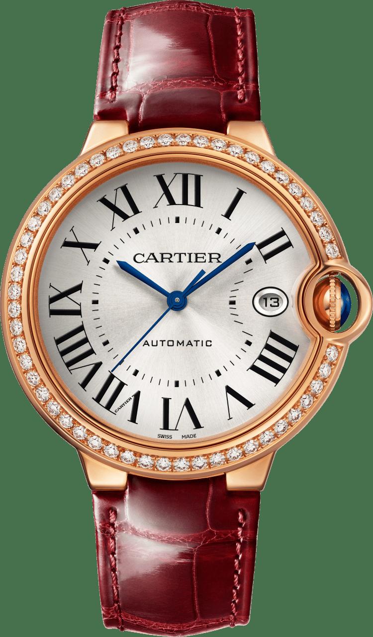 ساعة من مجموعة بالون بلو دو كارتييه«Ballon Bleu De Cartier»