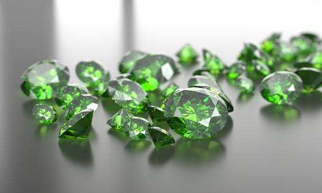 تاريخ حجر الزمرد الأخضر