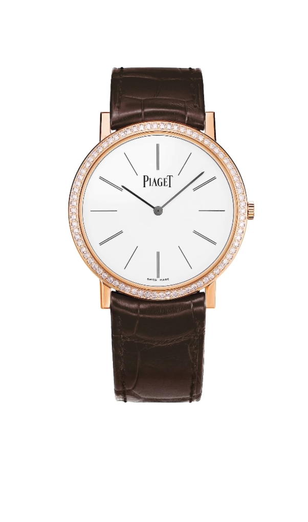 ساعة يد جلد Altiplano من بياجيه Piaget