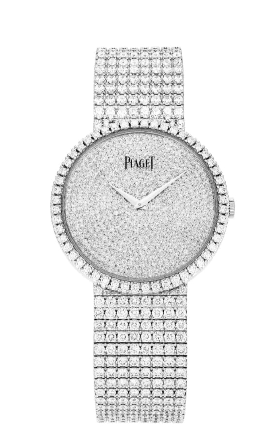 ساعة بوسيشن ألماس من بياجيه Piaget