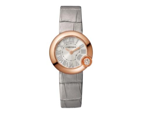 ساعة من الجلد من كارتييهCartier