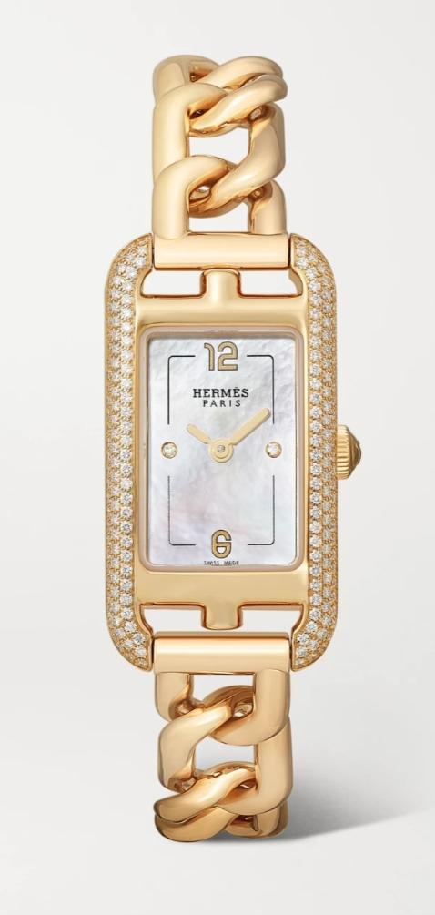 ساعة ذهب من هيرميس Hermes