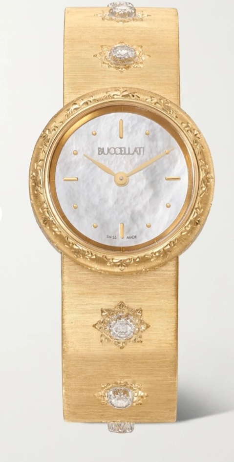 ساعة ذهب ماكري من بوتشيلاتي Buccellati