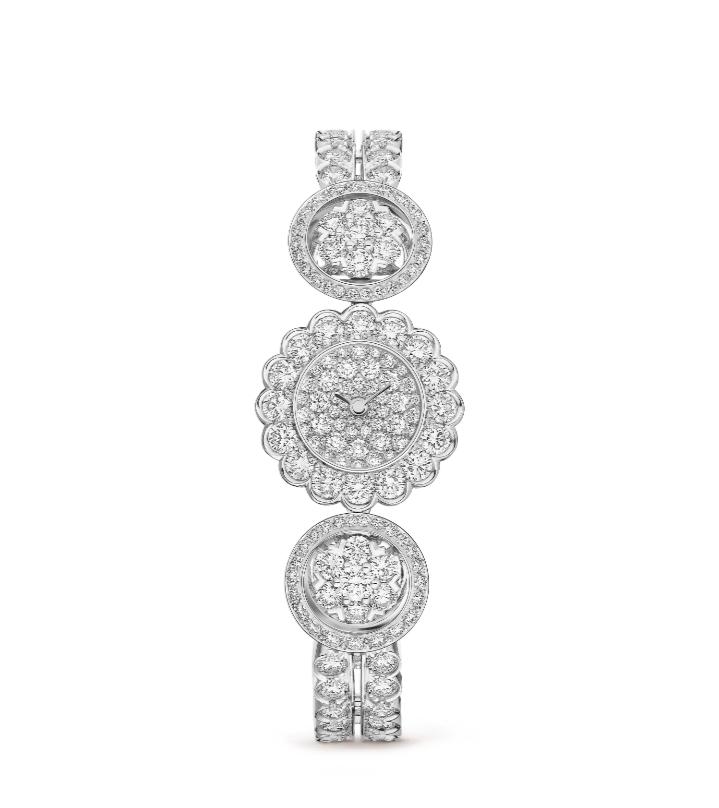 ساعة Snowflake من فان كليف أند آربلز Van Cleef & Arpels