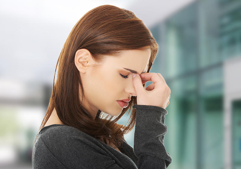 القلق من أعراض نشاط الغدة الدرقية