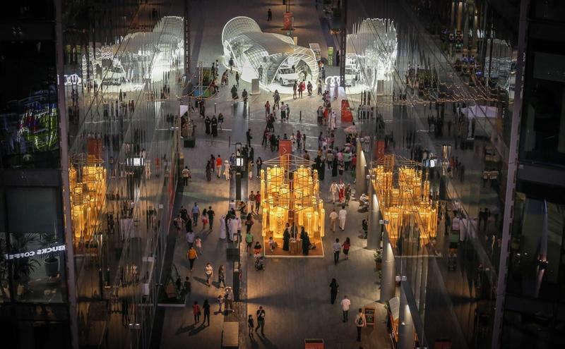 توفير مساحة عمل مشتركة في حي دبي للتصميم