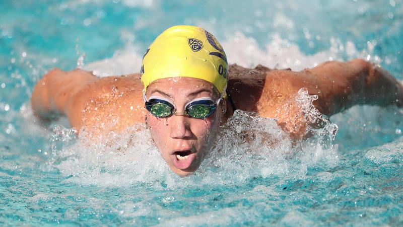 عدة ألقاب للسباحة فريدة عثمان