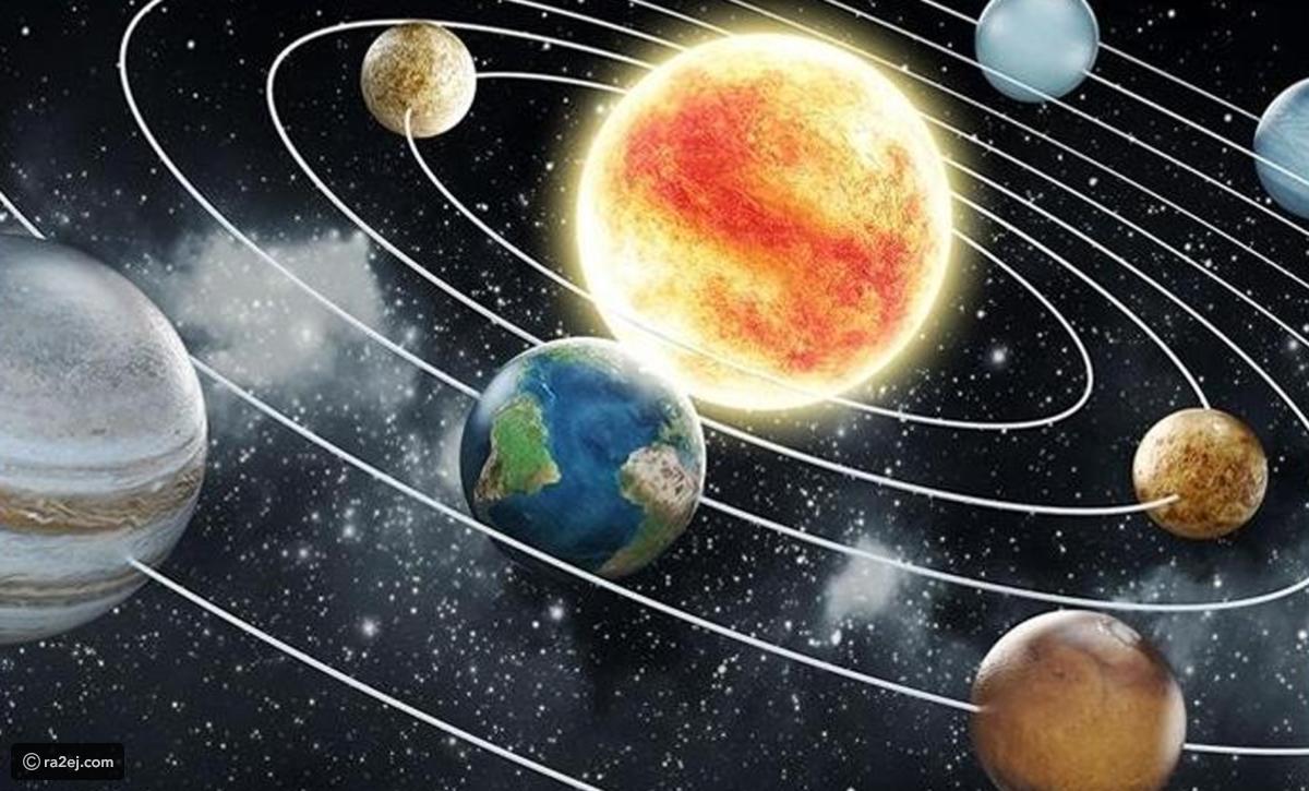 رقصة الكواكب حول الشمس