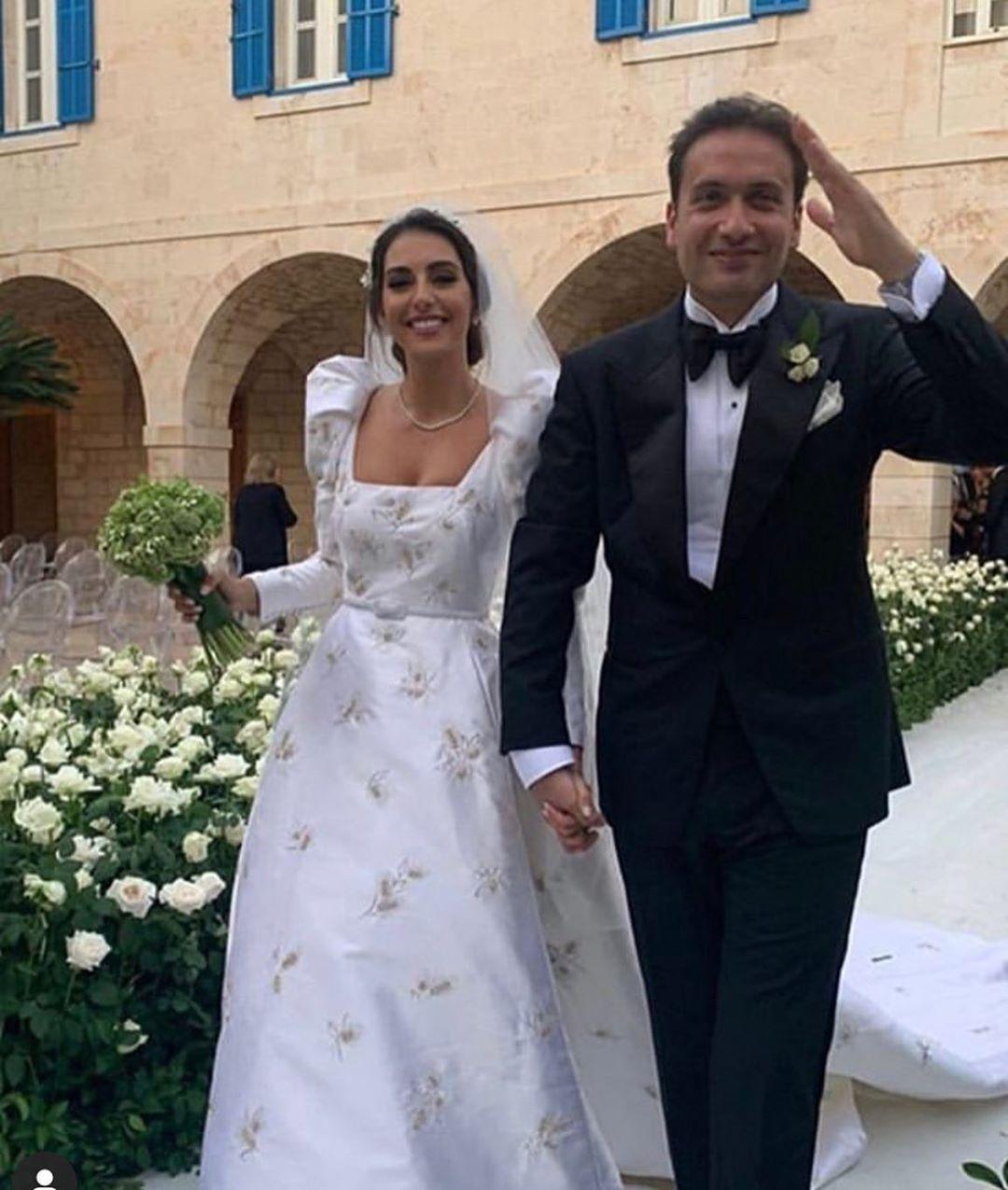 زفاف فاليري بو شقرا