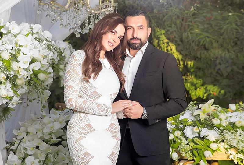 زفاف هاني سعد ودرة