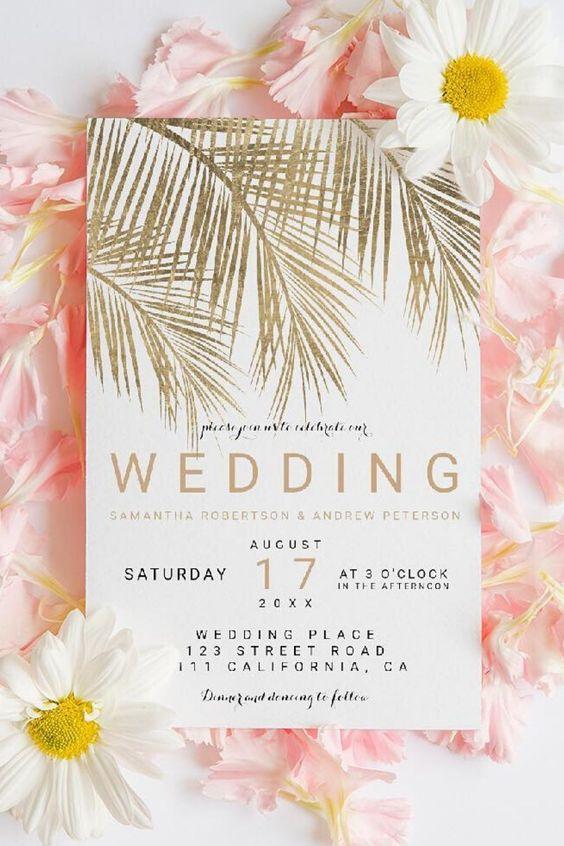 دعوات حفل الزفاف