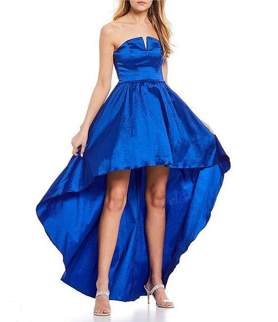 فستان تفته بتنورة ذات أطوال مختلفة