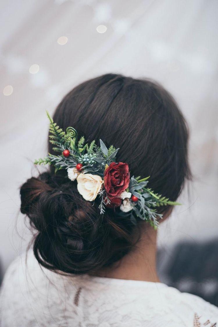 أكسسوار شعر العروس