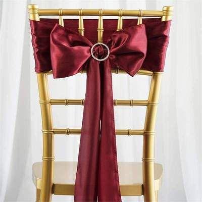 مفارش الكراسي باللون البرغندي