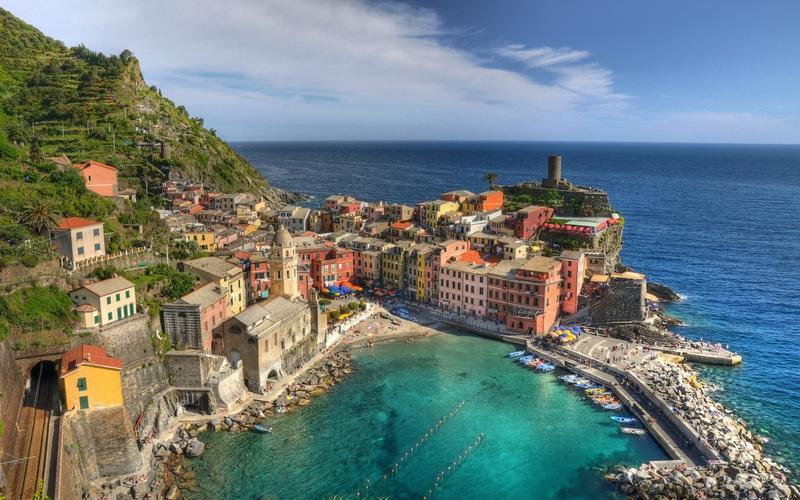 التجول في إيطاليا