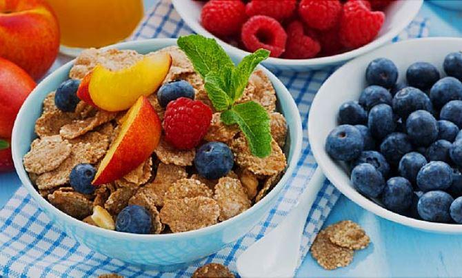 الحرص على تناول الطعام الصحي