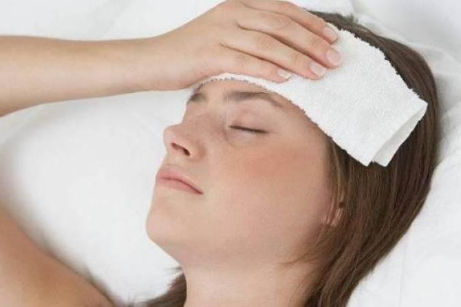 ارتفاع حرارة الجسم من أعراض الحمى المالطية