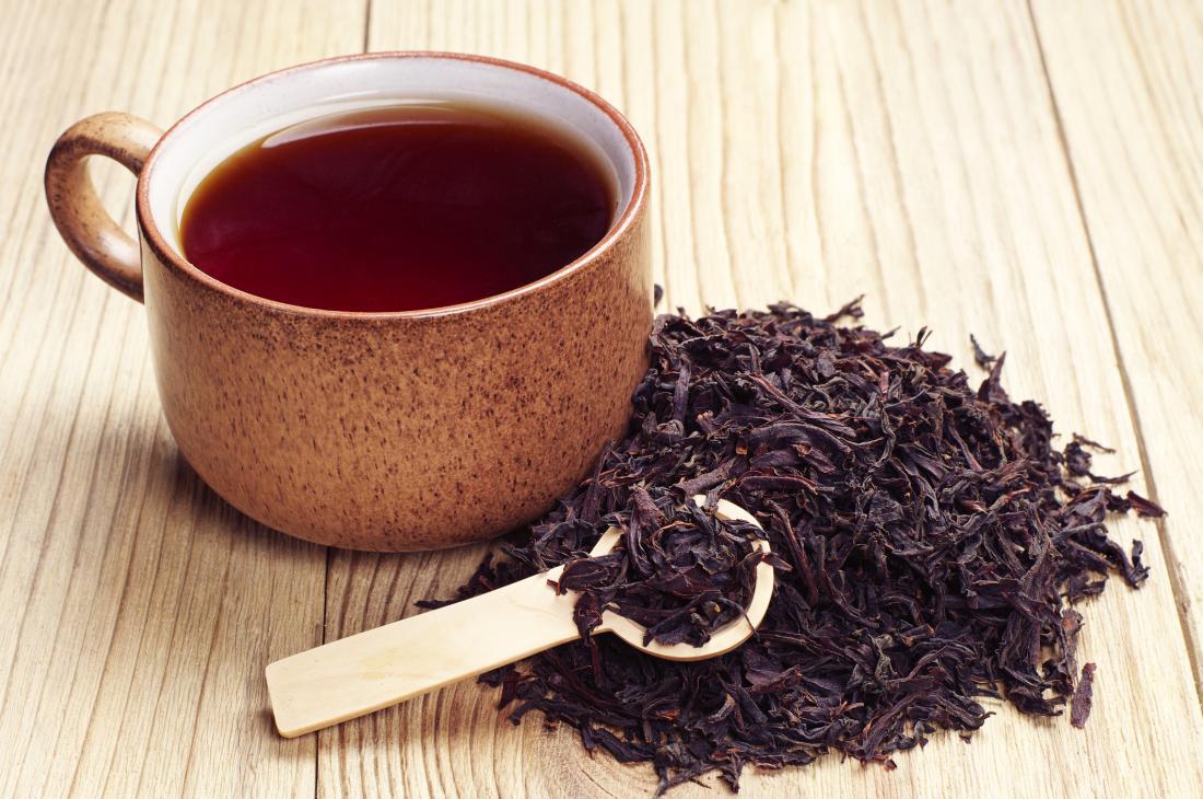 خلطات الشاي للشعر