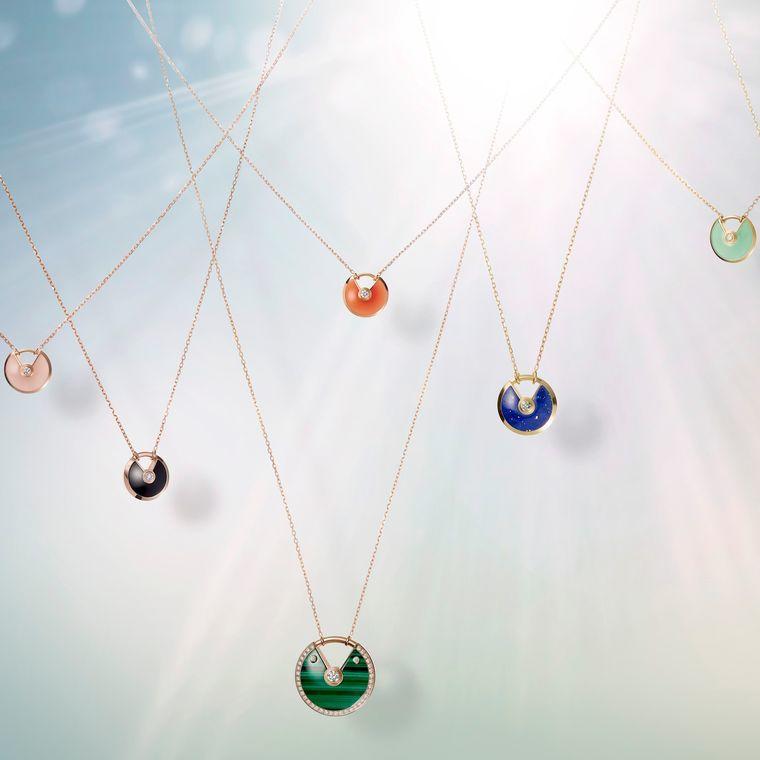 The Amulette de Cartier collection of pendants