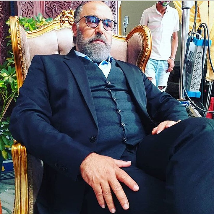 الممثل محمد خيي من كواليس المسلسل