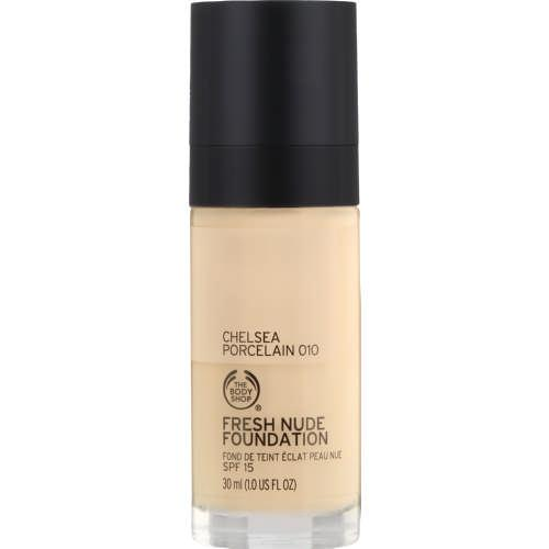 ‏The Body Shop Fresh Nude Foundation