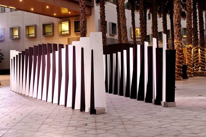 سيلا، الفائز بجائزة كريستو وجين كلود لعام 2019 ، برعاية مجموعة أبوظبي للثقافة والفنون