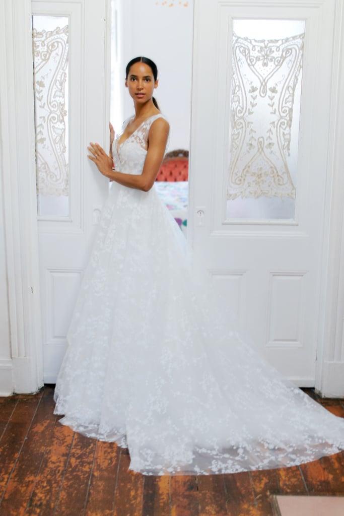 فساتين الزفاف المنفوشة