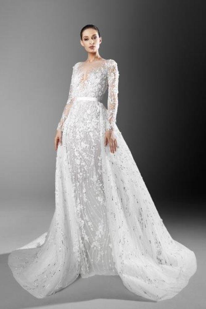 فستان زفاف لربيع 2021 من زهير مراد