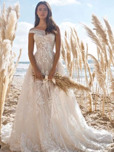 فساتين زفاف لربيع 2021 من Lee Petra Grebenau