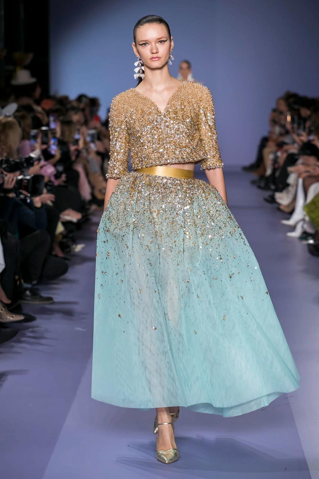 فستان من جورج حبيقة Georges Hobeika