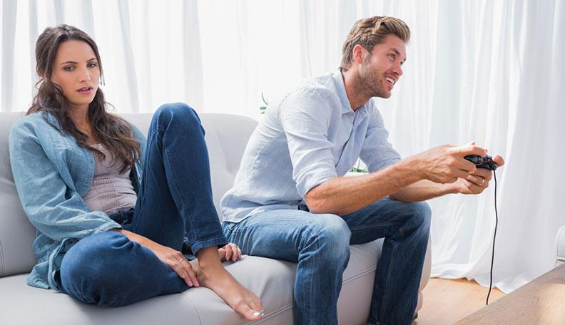 مشاركة الزوج