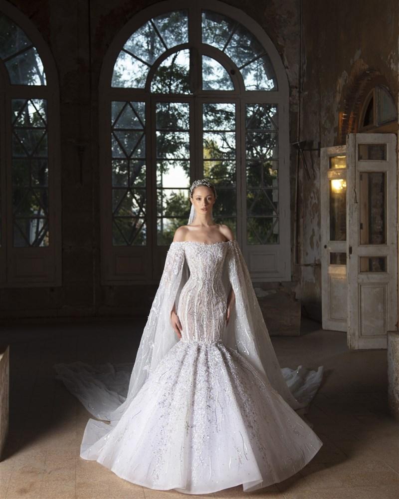 فستان زفاف رامي قاضي 2021