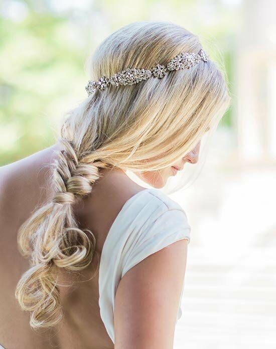 تسريحة الجدائل على أطراف الشعر