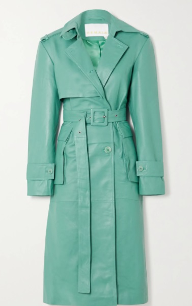 معطف باللون الأخضر من Remain Birger Christensen