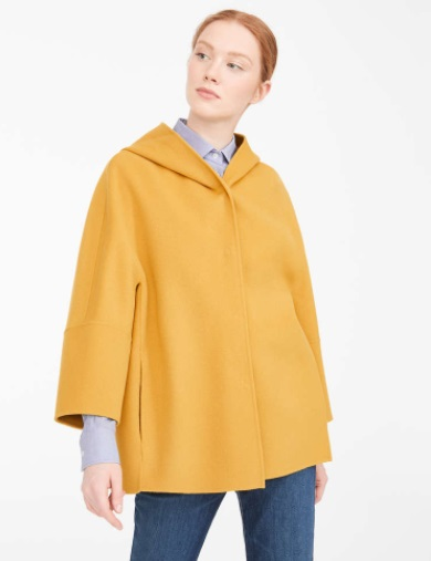 معطف أصفر من ماكس مارا