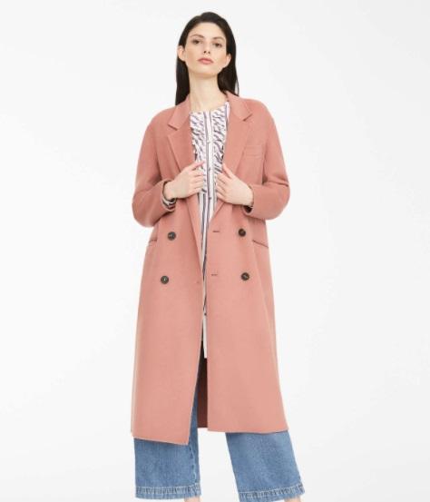 معطف وردي من ماكس مارا