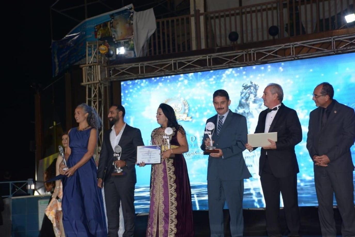 حفل ختام مهرجان الإسكندرية السينمائي الدولي - من فيس بوك المهرجان